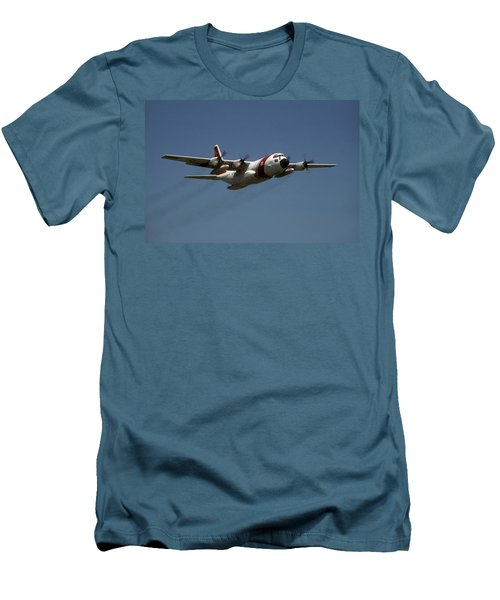 Men's T-Shirt (Slim Fit) featuring the photograph Red White And Blue by Steven Sparks