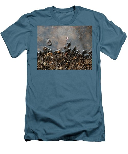 Men's T-Shirt (Slim Fit) featuring the photograph Roots In Water by Kay Lovingood