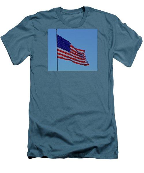 Salute Men's T-Shirt (Athletic Fit)