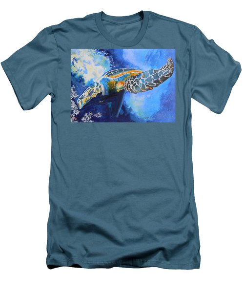 Save The Turtles Men's T-Shirt (Athletic Fit)