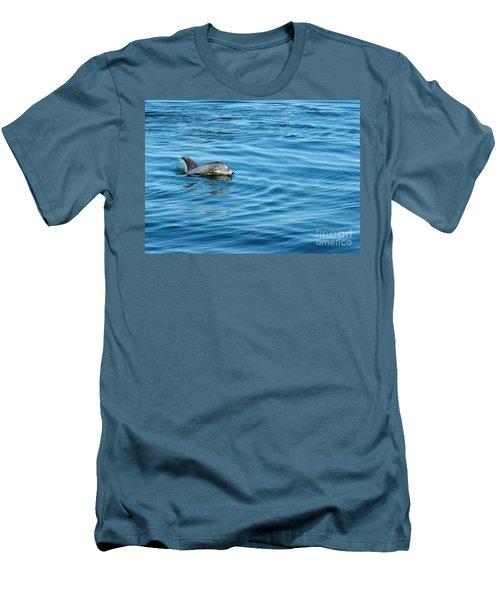 Smile Men's T-Shirt (Slim Fit) by Sami Martin