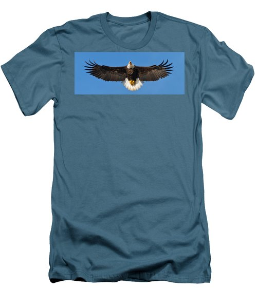 Men's T-Shirt (Slim Fit) featuring the photograph Spread Eagle by Randall Branham