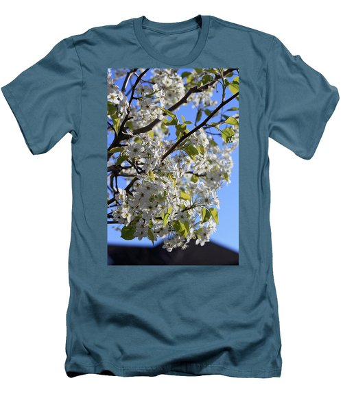 Men's T-Shirt (Slim Fit) featuring the photograph Spring Blooms by Kay Novy
