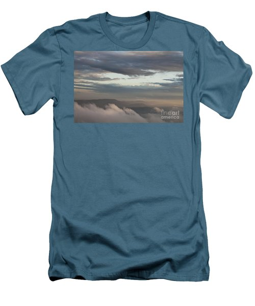Sunrise In The Mountains Men's T-Shirt (Slim Fit) by Jeannette Hunt