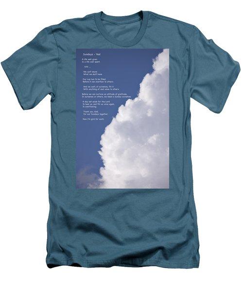 Thanks For Sundays Men's T-Shirt (Athletic Fit)