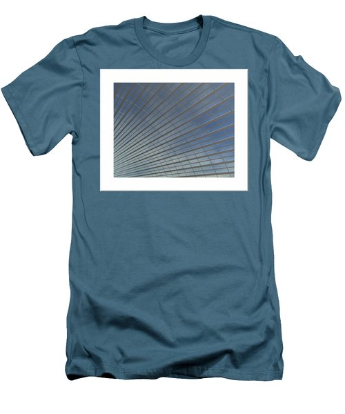 Men's T-Shirt (Slim Fit) featuring the digital art The Hangar... by Tim Fillingim