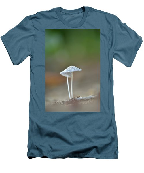 The Mushrooms Men's T-Shirt (Slim Fit) by JD Grimes