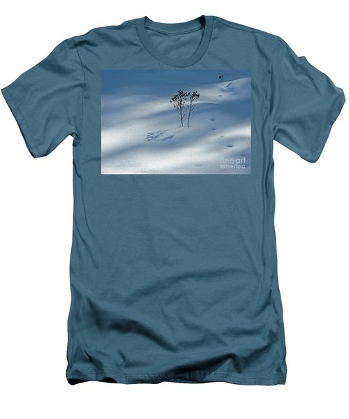 Men's T-Shirt (Athletic Fit) featuring the photograph The Shadow Of Loneliness by Ausra Huntington nee Paulauskaite