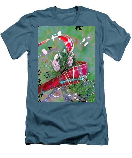 Tis The Season Men's T-Shirt (Slim Fit) by Anne Mott
