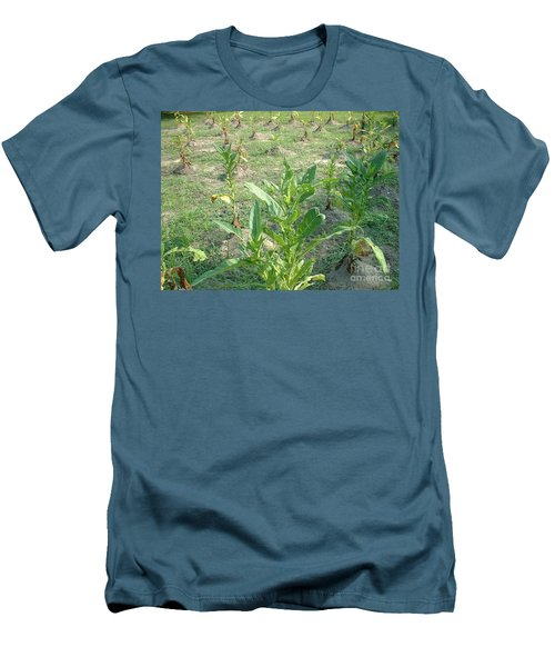 Men's T-Shirt (Slim Fit) featuring the photograph Tobacco Addiction by Mark Robbins