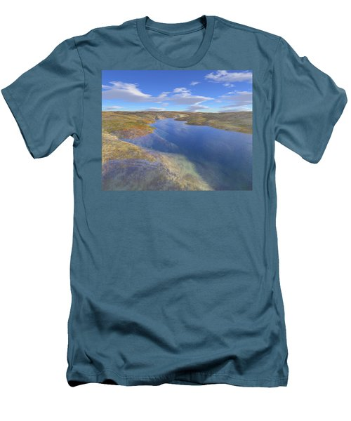 Valley Stream 2 Men's T-Shirt (Slim Fit) by Mark Greenberg