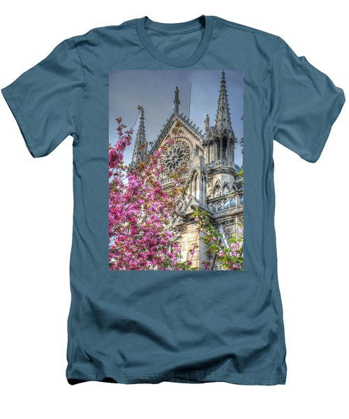 Men's T-Shirt (Slim Fit) featuring the photograph Vibrant Cathedral by Jennifer Ancker