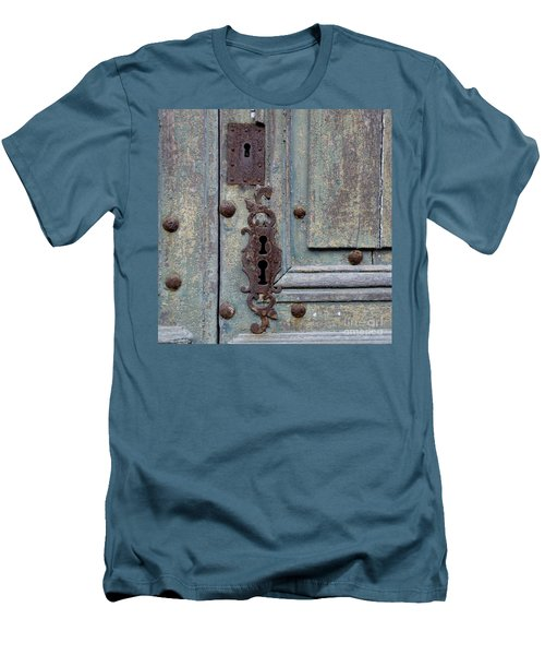 Weathered Men's T-Shirt (Slim Fit) by Lainie Wrightson