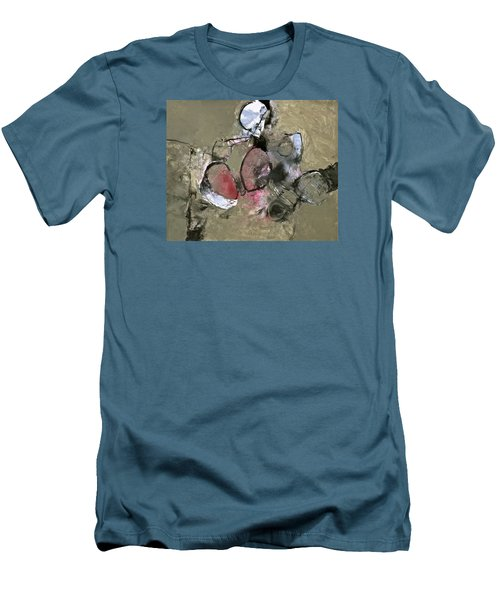 Men's T-Shirt (Slim Fit) featuring the painting Welterweight  by Cliff Spohn