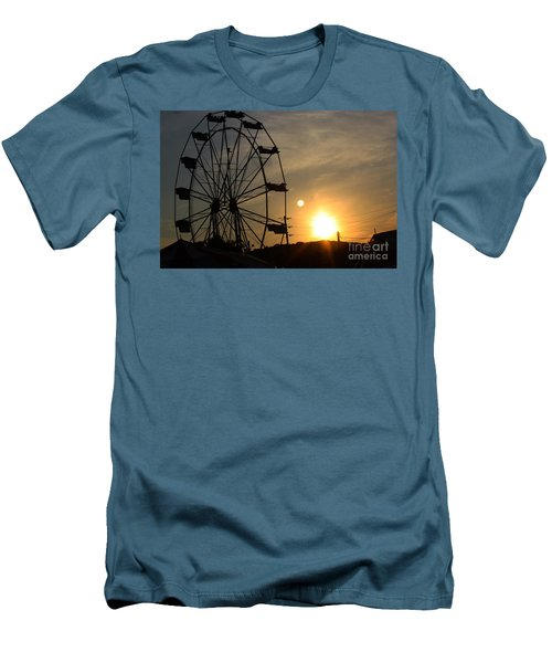 Where Has Summer Gone Men's T-Shirt (Slim Fit) by Tony Cooper