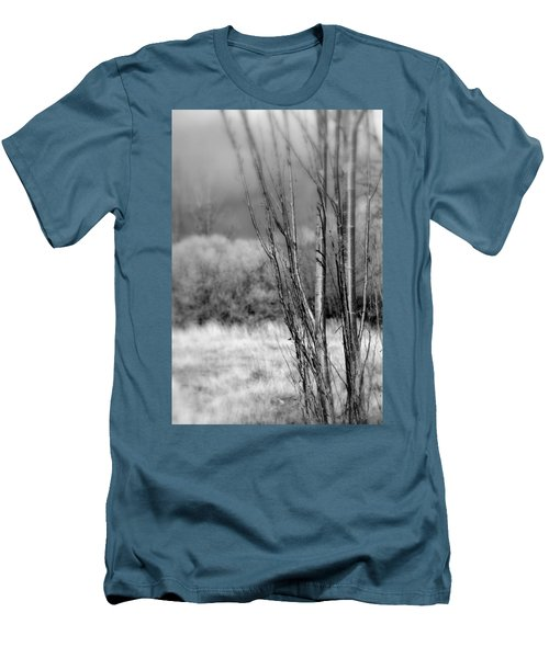 Men's T-Shirt (Slim Fit) featuring the photograph Winters Branch by Kathleen Grace