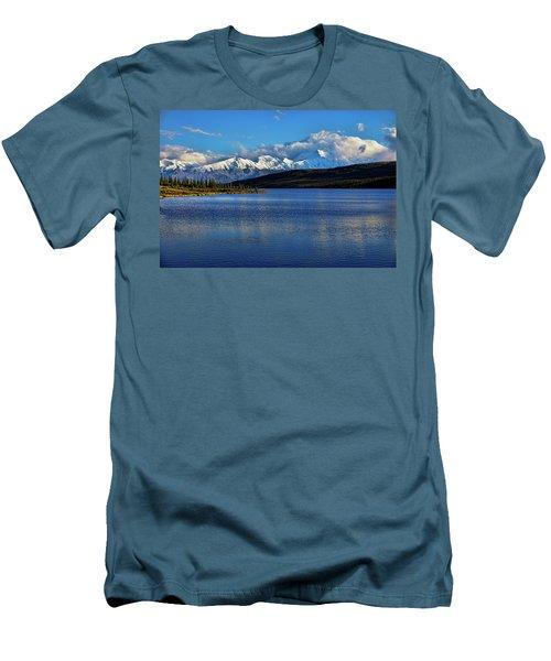 Wonder Lake Men's T-Shirt (Athletic Fit)