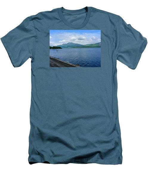 Loch Lomond Men's T-Shirt (Athletic Fit)