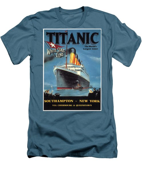 0065186 Men's T-Shirt (Slim Fit) by Titanic