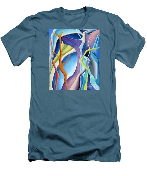 01322 Aspiration Men's T-Shirt (Slim Fit) by AnneKarin Glass