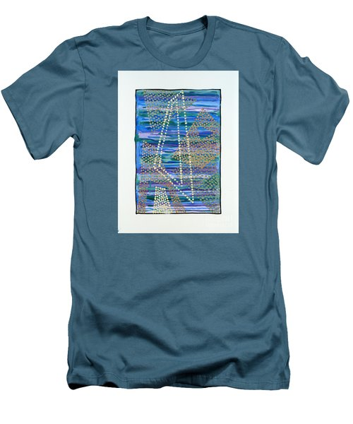 01330 Lean Men's T-Shirt (Slim Fit) by AnneKarin Glass