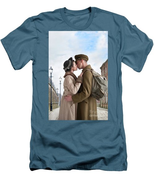 1940s Lovers Men's T-Shirt (Athletic Fit)