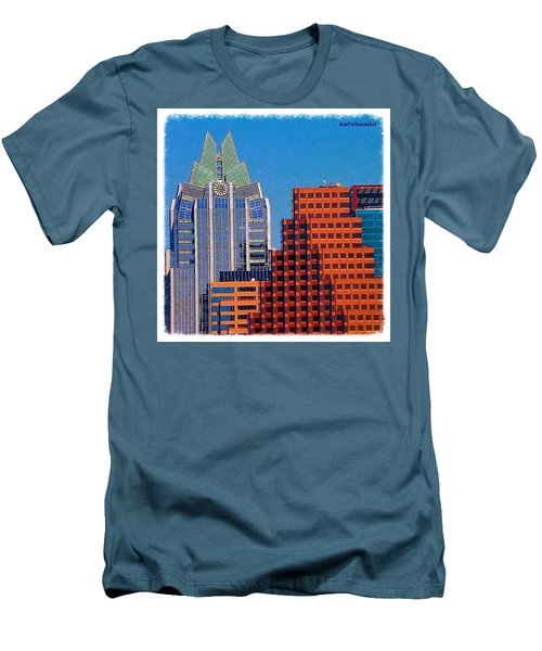 Another #gorgeous #bluesky Day In Men's T-Shirt (Athletic Fit)