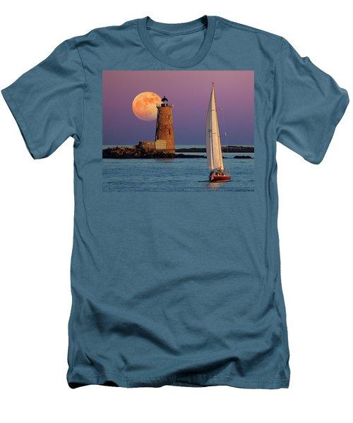 Men's T-Shirt (Slim Fit) featuring the photograph Arise  by Larry Landolfi