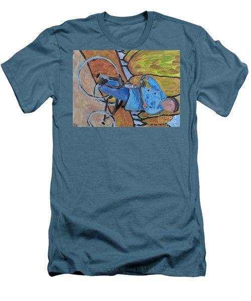 Art Study Men's T-Shirt (Slim Fit) by Reina Resto