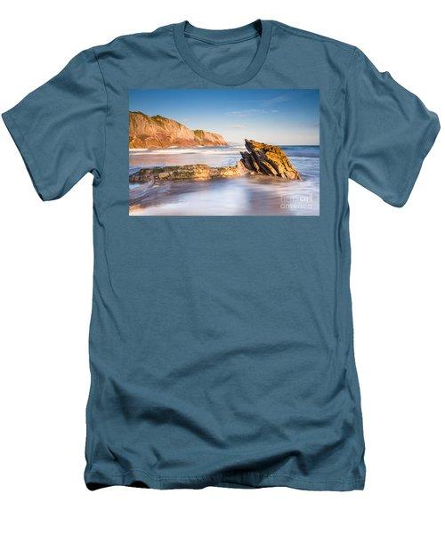 Basque Country Men's T-Shirt (Slim Fit) by Mariusz Czajkowski