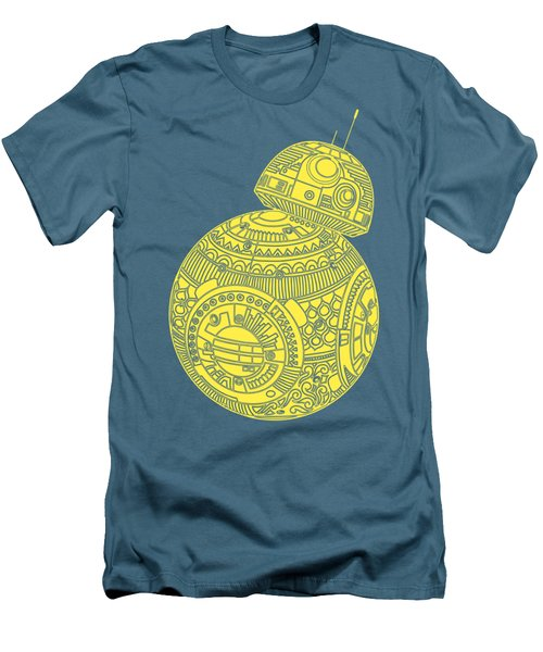 Bb8 Droid - Star Wars Art, Yellow Men's T-Shirt (Athletic Fit)
