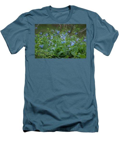 Blue Bells Men's T-Shirt (Slim Fit) by Heidi Poulin