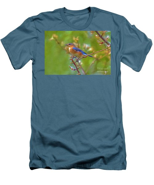 Bluebird Men's T-Shirt (Athletic Fit)