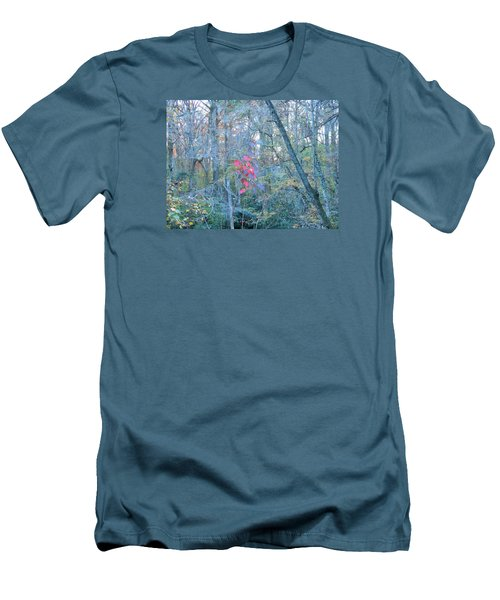 Men's T-Shirt (Slim Fit) featuring the photograph Burst Of Color by Kay Gilley