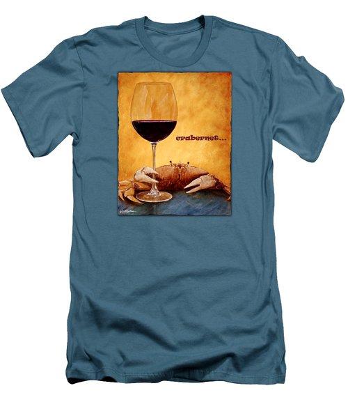 Crabernet... Men's T-Shirt (Athletic Fit)