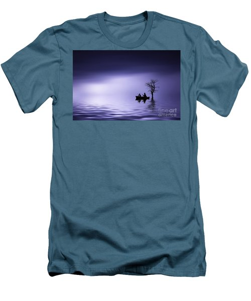 Men's T-Shirt (Slim Fit) featuring the photograph Cruise by Bess Hamiti