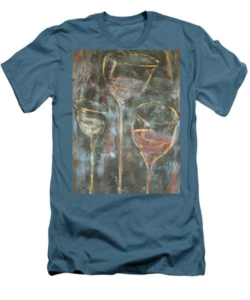 Dancing Glasses Men's T-Shirt (Athletic Fit)