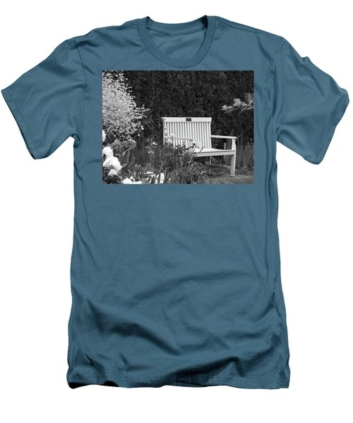 Desolate In The Garden Men's T-Shirt (Athletic Fit)