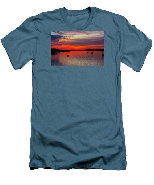 Dusk Men's T-Shirt (Slim Fit) by RC Pics