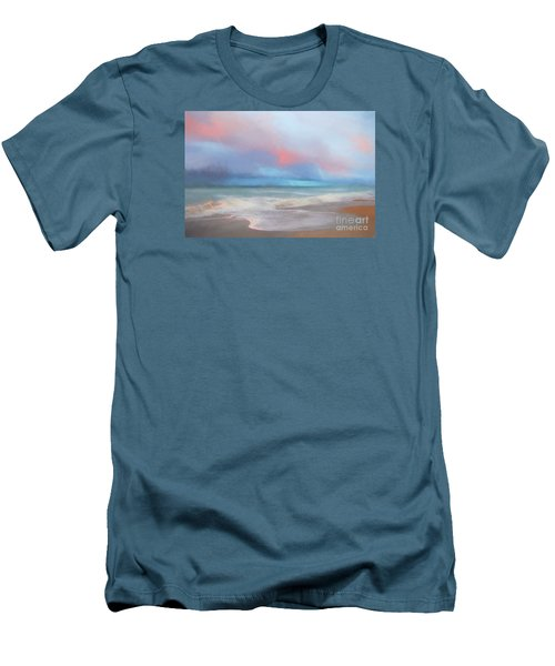 Men's T-Shirt (Slim Fit) featuring the photograph Emerald Isle North Carolina by Mim White