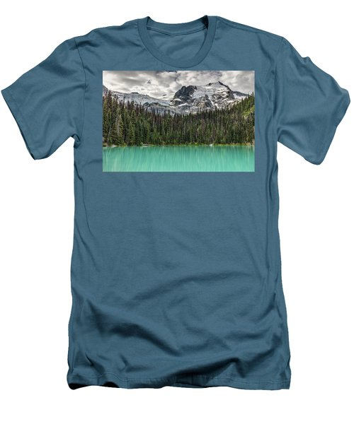 Emerald Reflection Men's T-Shirt (Slim Fit) by Pierre Leclerc Photography
