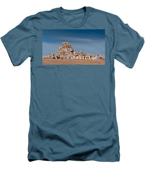 Fort Irwin Men's T-Shirt (Slim Fit) by Jim Thompson