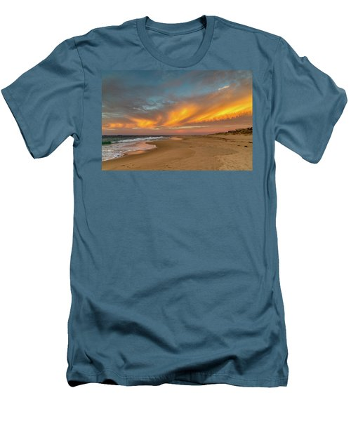 Golden Clouds Men's T-Shirt (Athletic Fit)