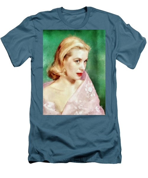 Grace Kelly By John Springfield Men's T-Shirt (Athletic Fit)