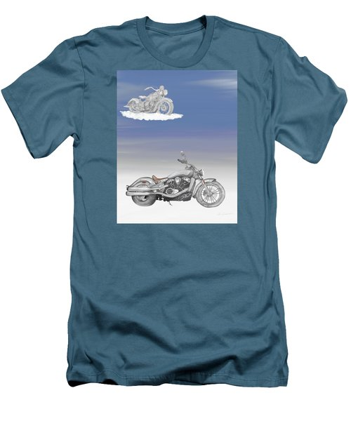 Grandson Men's T-Shirt (Slim Fit) by Terry Frederick