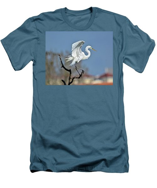 I'll Fly Away Men's T-Shirt (Slim Fit) by Carol Bradley