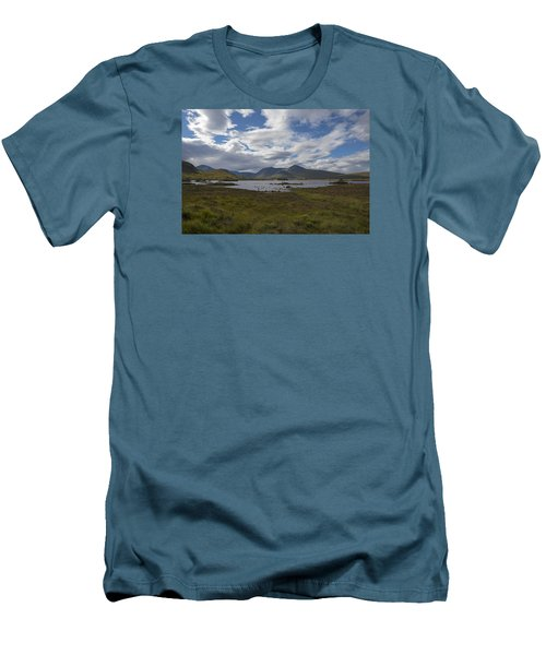 Men's T-Shirt (Slim Fit) featuring the photograph In Glencoe Uk by Dubi Roman