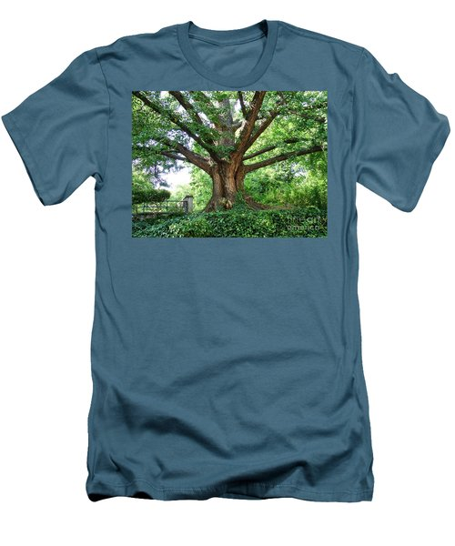 Men's T-Shirt (Athletic Fit) featuring the photograph Inwood Ginkgo  by Cole Thompson