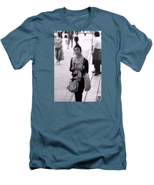 Jidai Matsuri Xv Men's T-Shirt (Slim Fit) by Cassandra Buckley