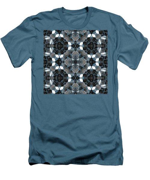 Kaleidoscop Men's T-Shirt (Slim Fit) by Michal Boubin
